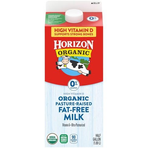 Horizon Organic Skim Milk - 0.5gal - image 1 of 4