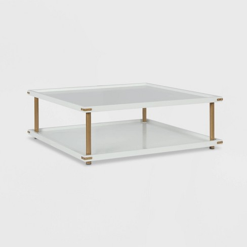 Volta Square Coffee Table White - CosmoLiving by Cosmopolitan - image 1 of 7