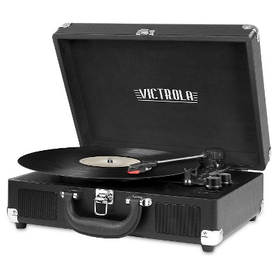 Victrola - Suitcase Turntable With Bluetooth (Bl (Vinyl)