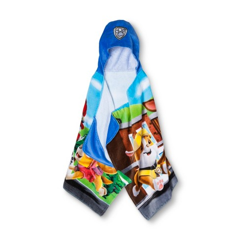 PAW Patrol Hooded Bath Towels - image 1 of 2