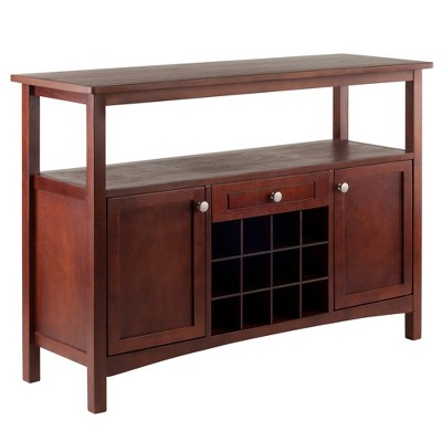 Colby Buffet Cabinet Walnut - Winsome