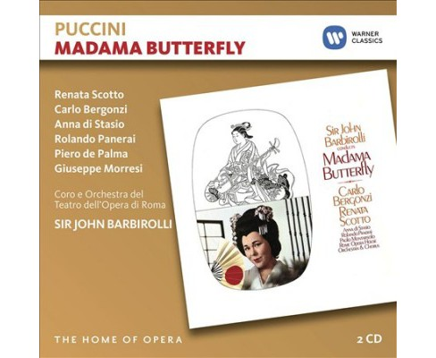 Renata Scotto - Puccini:Madama Butterfly (CD) - image 1 of 1
