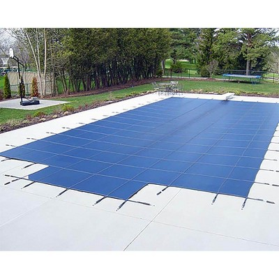 Yard Guard  Deck Lock Mesh 18' x 36' + 8' End Steps Swimming Pool Safety Cover