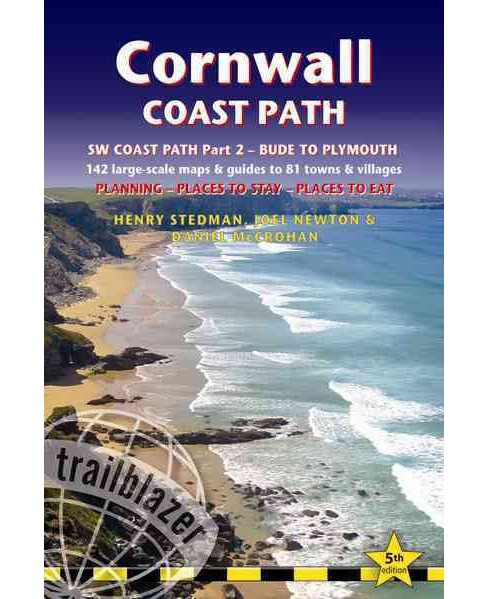 Cornwall Coast Path : South-West Coast Path Part 2 includes 142 Large-Scale Walking Maps & Guides to 81 - image 1 of 1