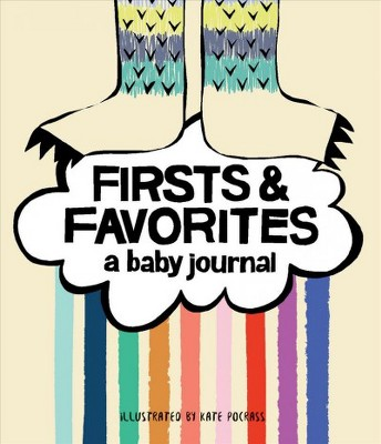 Firsts & Favorites : A Baby Journal - (Hardcover)