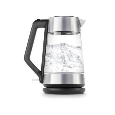 OXO 1.7L Cordless Glass Electric Kettle - Silver