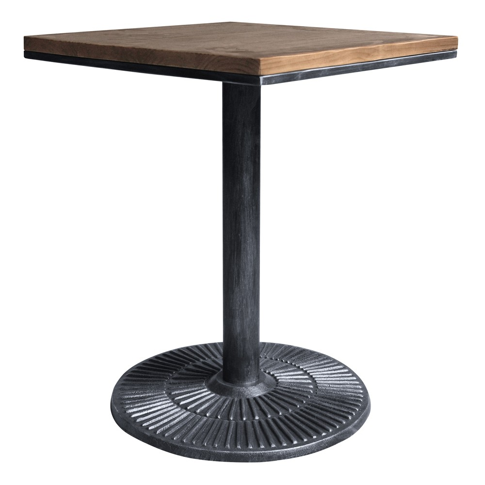 Talia Industrial Table Gray - Armen Living
