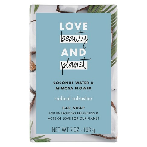 Love Beauty & Planet Coconut Water & Mimosa Flower Refreshing Bar Soap - 7oz - image 1 of 4