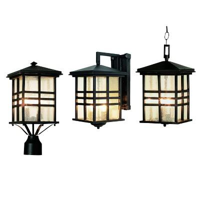 Outdoor Wall Lights - Black - Bel Air Lighting