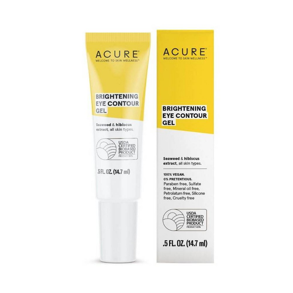 Image of Acure Brightening Eye Contour Gel - .5 fl oz