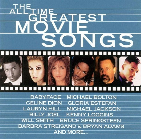 Various - All time greatest movie songs (CD) - image 1 of 1