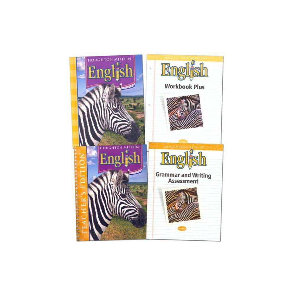 Houghton Mifflin English: Homeschool Package Grade 5 - (Hardcover)