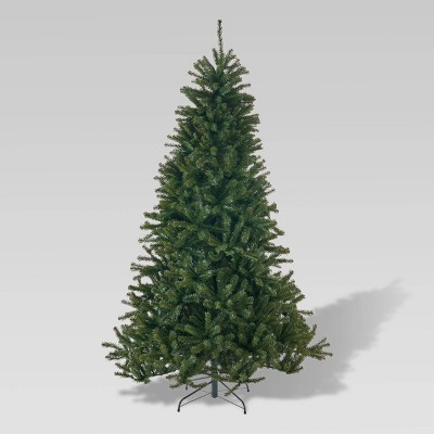 7.5ft Noble Fir Unlit Hinged Full Artificial Christmas Tree - Christopher Knight Home