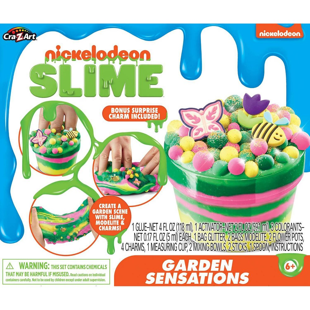 Nickelodeon Garden Sensations Slime Kit by Cra-Z-Art was $12.99 now $6.99 (46.0% off)