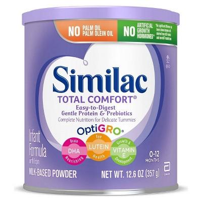 Similac Total Comfort Infant Formula Powder with Iron - 12.6oz