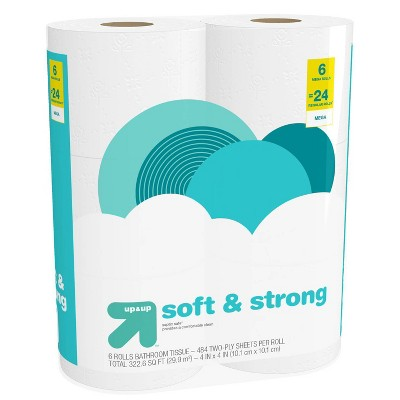 Soft & Strong Toilet Paper - Mega Rolls - up & up™