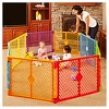 Toddleroo By North States Superyard Colorplay 8 Panel Freestanding Gate - image 2 of 3