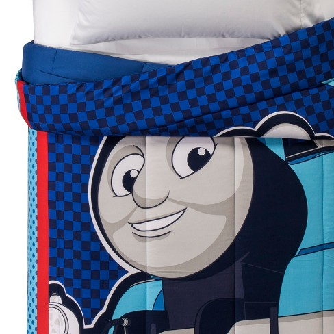 Thomas & Friends® Thomas the Tank Engine Blue & Red Comforter (Twin) - image 1 of 3