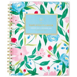 "2020 Planner 9.375""x 11.125"" Floral - Emily Ley"