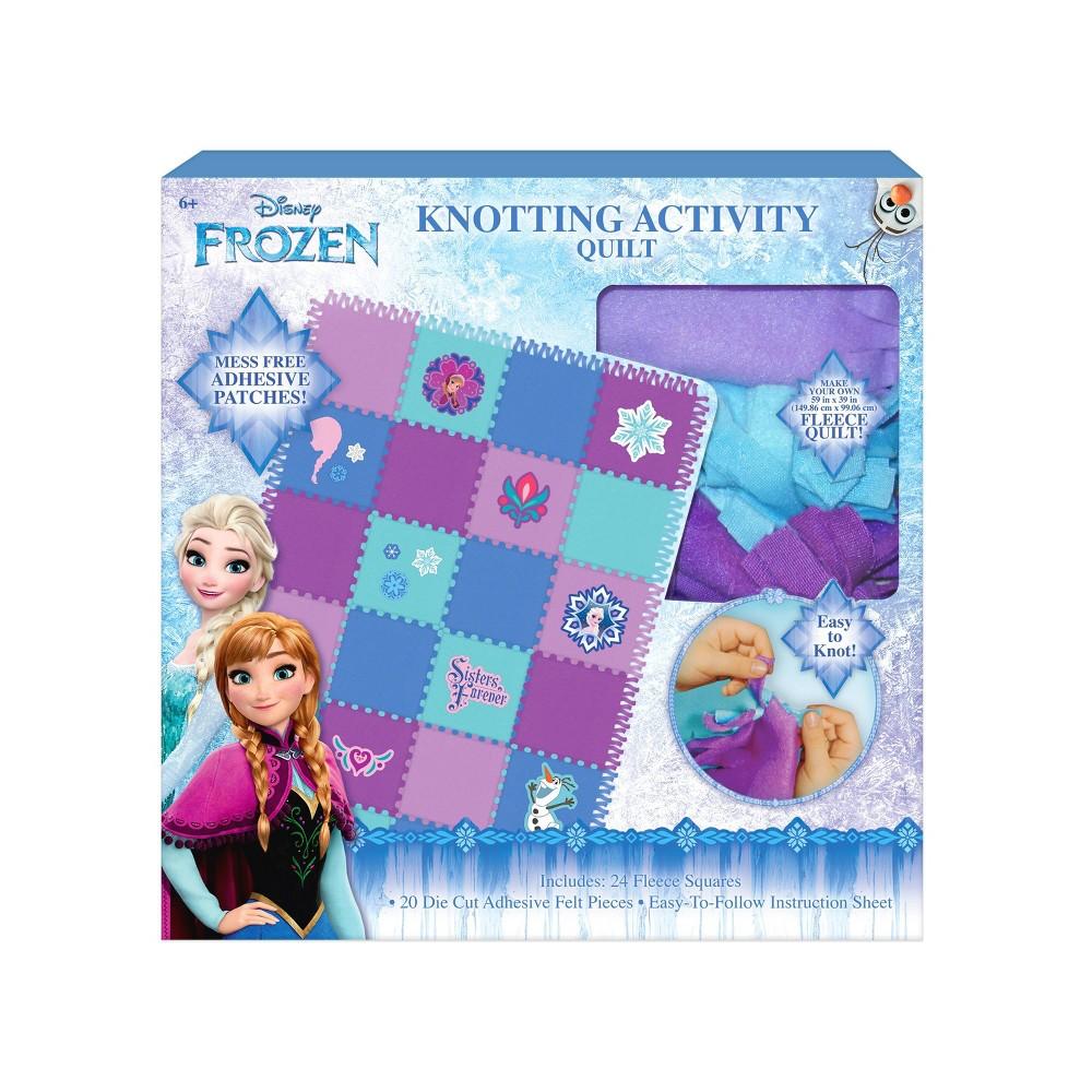 Disney Frozen Knotting Quilt Activity, Multi-Colored