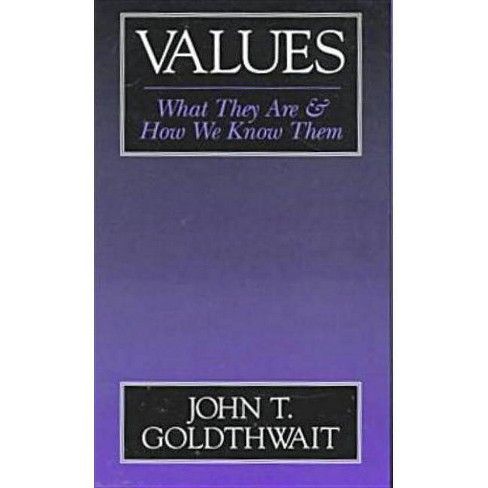 Values - by  John T Goldthwait (Paperback) - image 1 of 1