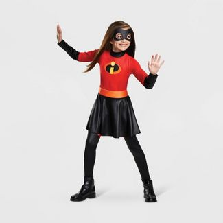 Girls' The Incredibles Violet Parr Halloween Costume  S