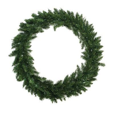 "Northlight 72"" Unlit Buffalo Fir Commercial Size Artificial Christmas Wreath"