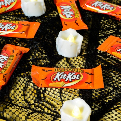 kit kat orange halloween snack size 1029oz target