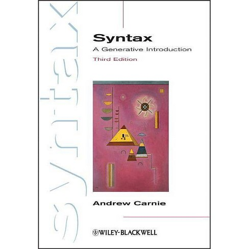 Syntax - (Introducing Linguistics) 3 Edition by  Andrew Carnie (Paperback) - image 1 of 1