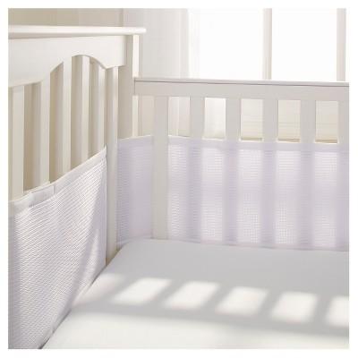 BreathableBaby® Deluxe Mesh Crib Liner – White
