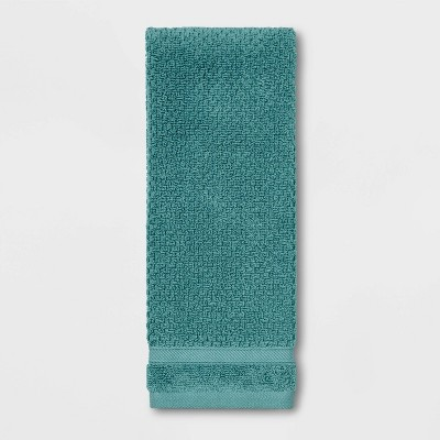Performance Hand Towel Turquoise Texture - Threshold™