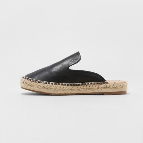 04de3e636c5 Women's Clara Espadrille Flat Mules - Universal Thread™ Black 8.5
