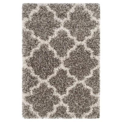 Hudson Shag Rug - Gray/Ivory - (2'X3')- Safavieh