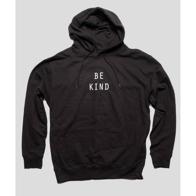 PH by The PHLUID Project Men's 'Be Kind' Hooded T-Shirt - Black