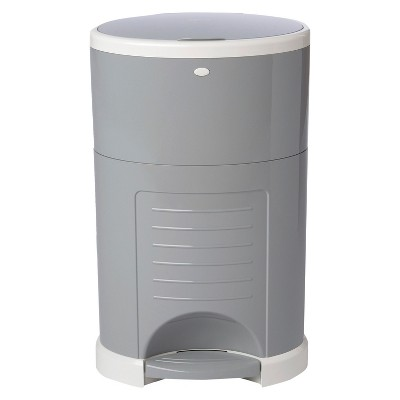 Dekor Plus Hands-Free Diaper Pail - Gray