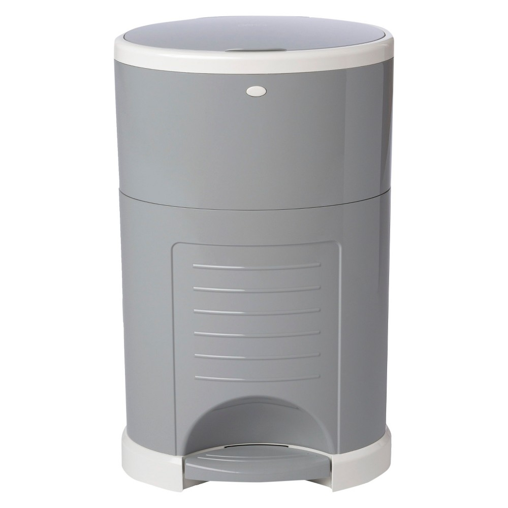 Image of Dekor Plus Hands-Free Diaper Pail - Gray