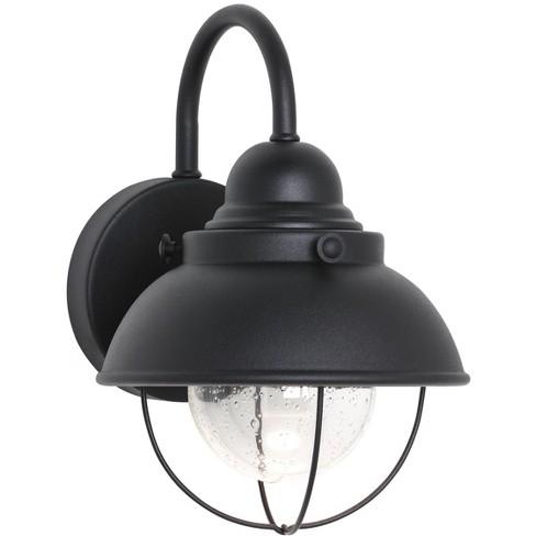 Generation Lighting Sebring 1 light Black Outdoor Fixture 887093S-12 - image 1 of 2