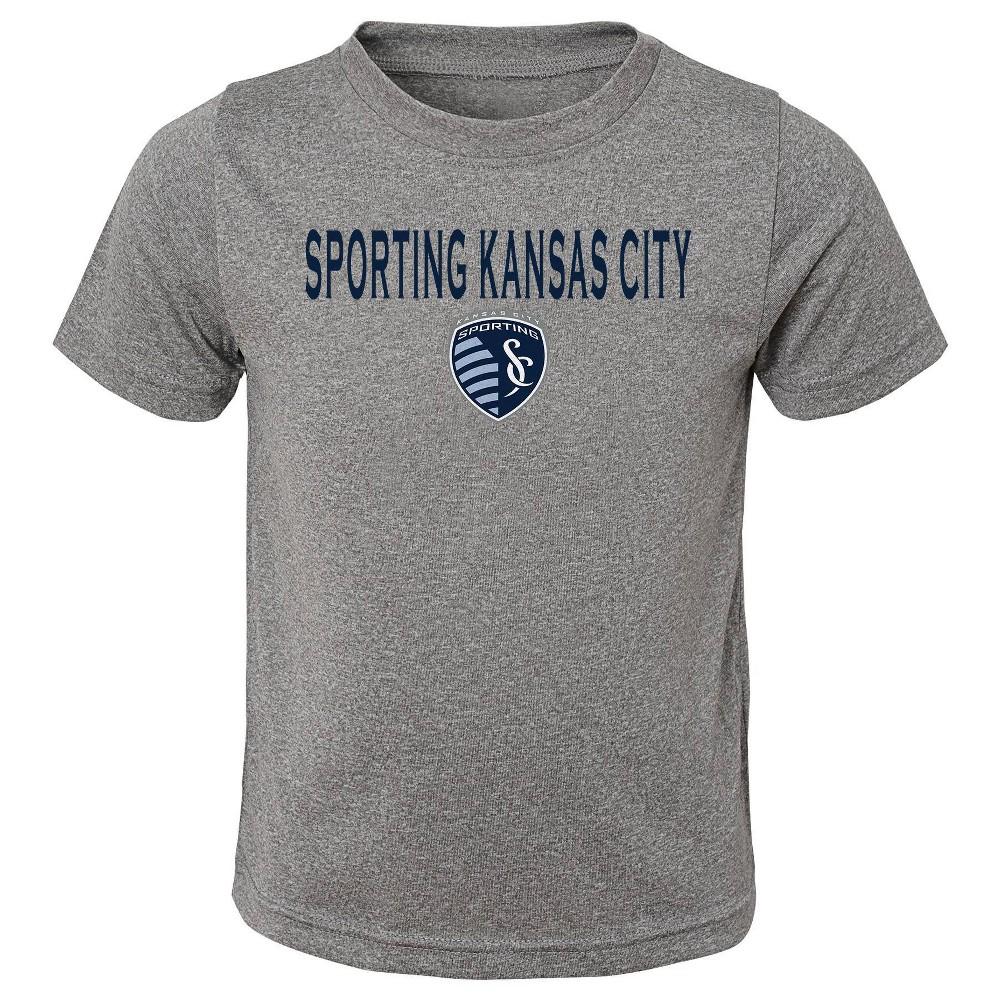 Mls Sporting Kansas City Toddler Short Sleeve 3pk T Shirts 3t