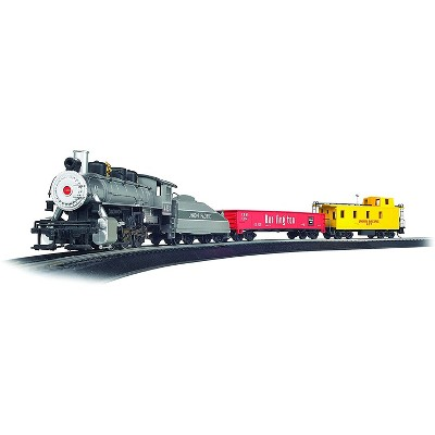 Bachmann Trains 00761 Yard Master HO Scale 1:87 Ready to Run Electric Train Set with Working Smoke and Headlights for Hobbyists Ages 14 and Up