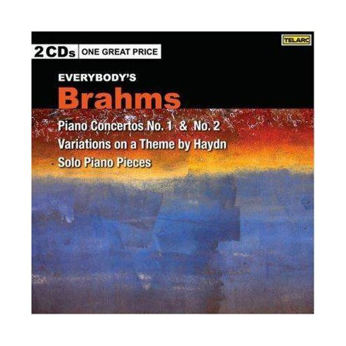 Various - Everybody's Brahms : Piano Concertos 1 & 2 / Variation on a Theme by Haydn / Solo Piano Pieces - image 1 of 1