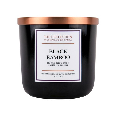 12oz Core Jar 2-Wick Candle Black Bamboo - Chesapeake Bay Candle - image 1 of 2