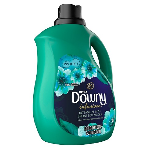 Downy Infusions Botanical Mist Liquid Fabric Softener - 103oz - image 1 of 3