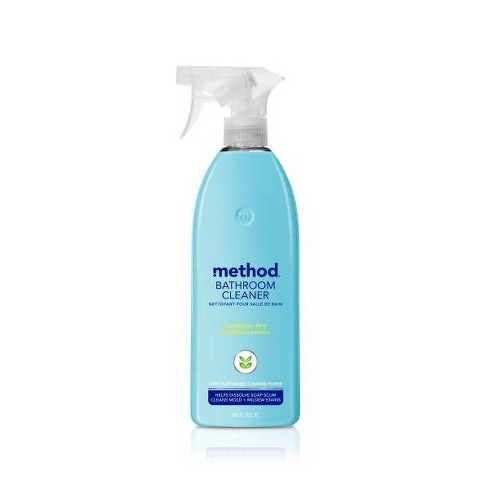 Method Cleaning Products Bathroom Cleaner Tub + Tile Eucalyptus Mint Spray Bottle 28 fl oz - image 1 of 3