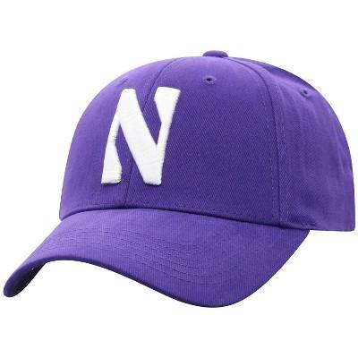 NCAA Northwestern Wildcats Men's Structured Brushed Cotton Hat