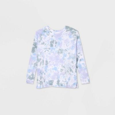 Maternity Tie-Dye Sweatshirt - Isabel Maternity by Ingrid & Isabel™ Purple XL