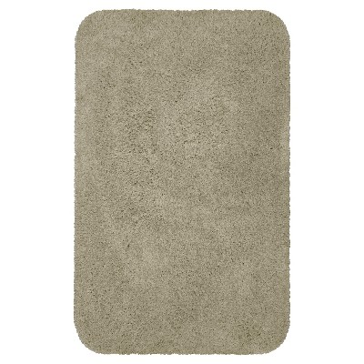 Everyday Solid Bath Rug (17x24)Light Taupe - Room Essentials™