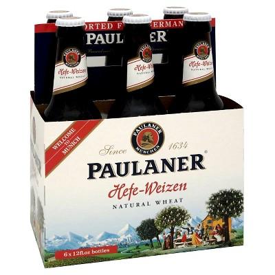 Paulaner Hefe-Weizen Beer - 6pk/12 fl oz Bottles