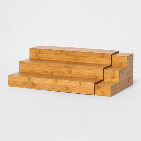 Bamboo Expanding Spice Rack - Threshold™ - image 1 of 3