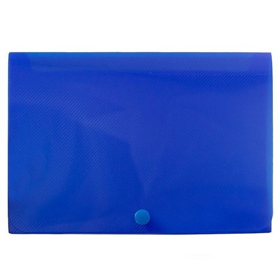 JAM Paper Plastic Index Card Case 6 1/8 x 3 3/4 x 1 Blue Sold Individually 374032782