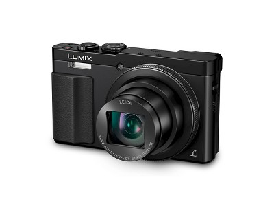 Panasonic Lumix 12.1MP Digital Camera with 30X Optical Zoom - Black (DMC-ZS50S)